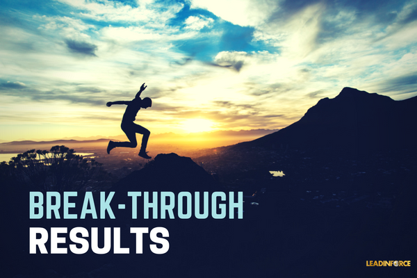 BREAKTHROUGH RESULTS